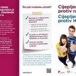 Obavijest za roditelje o cijepljenju protiv HPV infekcije
